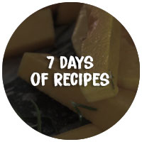 7 days of recipes